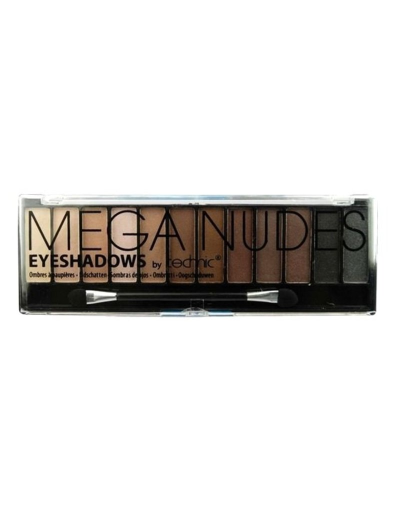 Technic Eye Shadow Palette - Mega Nudes - Oogschaduw