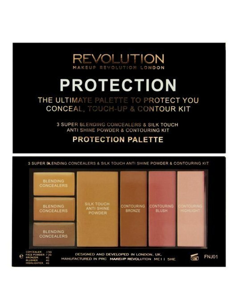 Makeup Revolution Protection Palette Medium/Dark