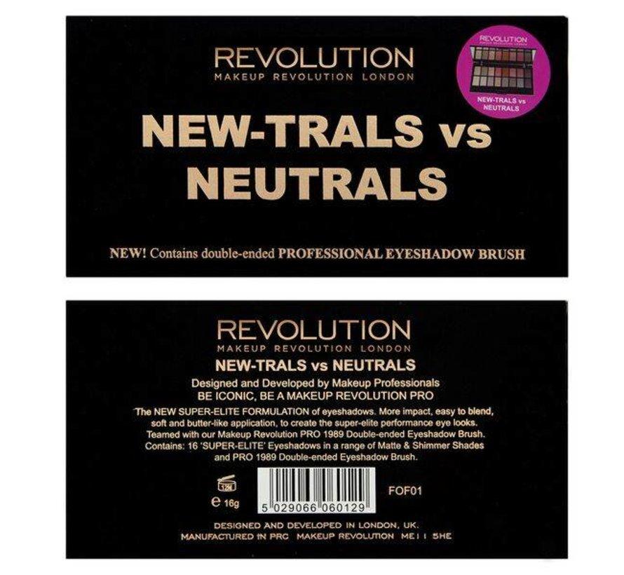 New-Trals vs Neutrals Palette - Oogschaduwpalette