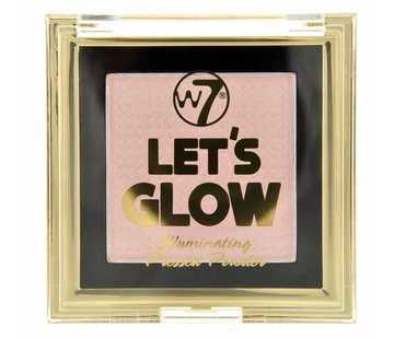 W7 Make-Up Let's Glow Illuminating Pressed Powder