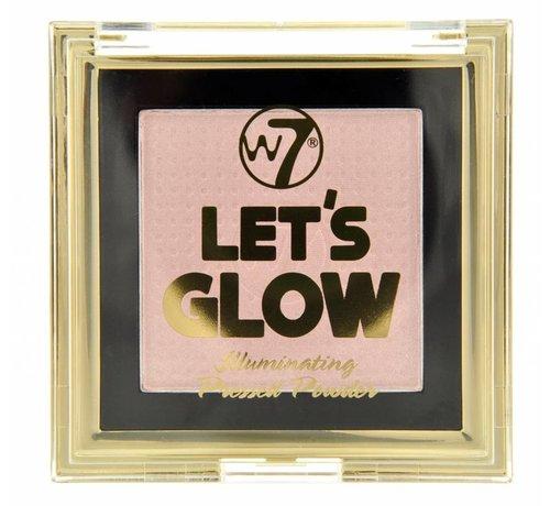 W7 Make-Up Let's Glow Illuminating Pressed Powder - Highlighter