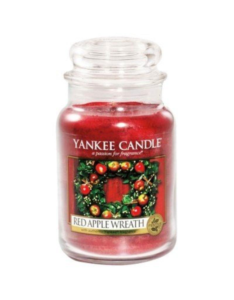 Yankee Candle Red Apple Wreath - Large Jar