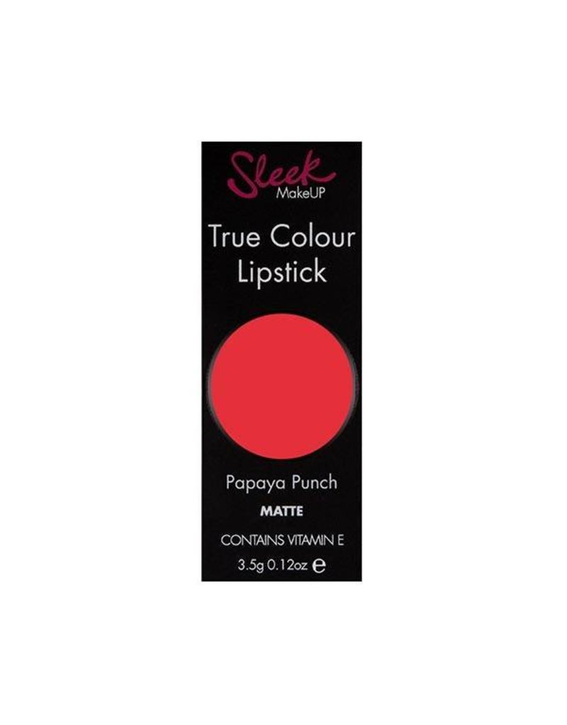 Sleek MakeUP True Colour Lipstick - Papaya Punch