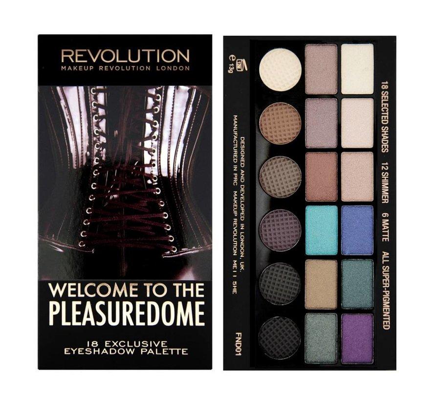Salvation Palette - Welcome To The Pleasuredome - Oogschaduw