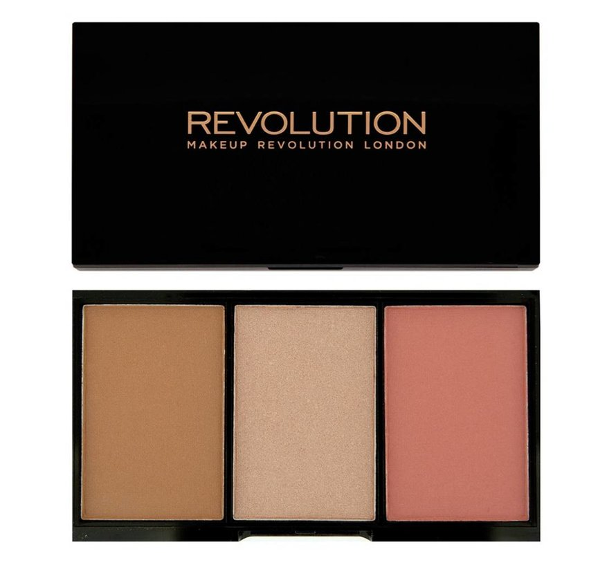 Iconic Blush, Bronze & Brighten - Flush - Contour Palette