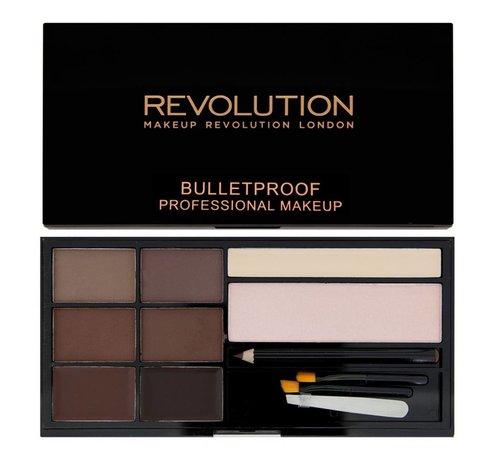 Makeup Revolution Ultra Brow - Medium to Dark