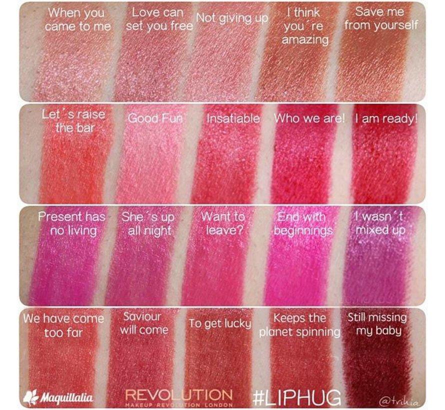 #Liphug - Saviour Will Come - Lipstick