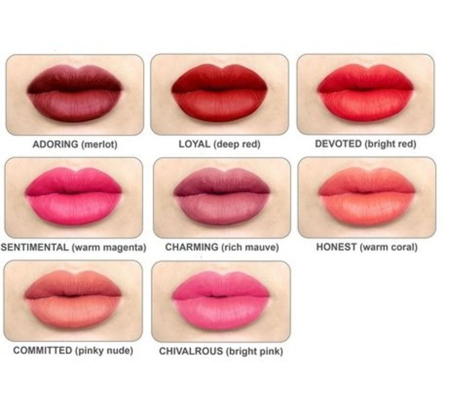 Meet Matt(e) Hughes - Loyal Lipstick