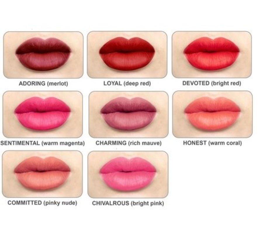 Meet Matt(e) Hughes - Sentimental Lipstick