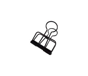 Stationery Binder Clips - Zwart