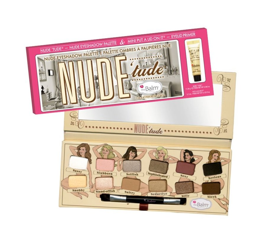 Nude Tude & Mini Put A Lid On It Primer - Palette