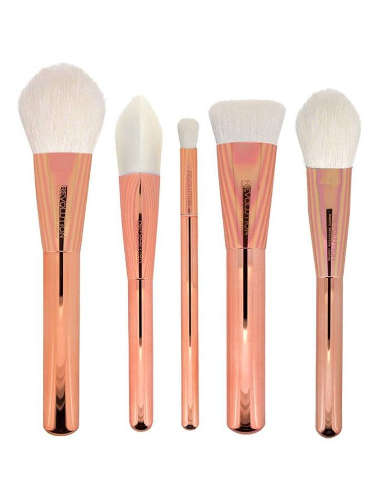 Makeup Revolution Ultra Metal Brush Collectie - Kwastenset