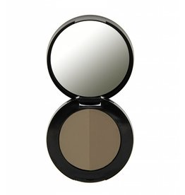 Freedom Makeup Duo Eyebrow Powder - Taupe