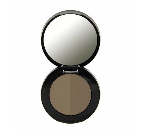 Freedom Makeup Duo Eyebrow Powder - Taupe