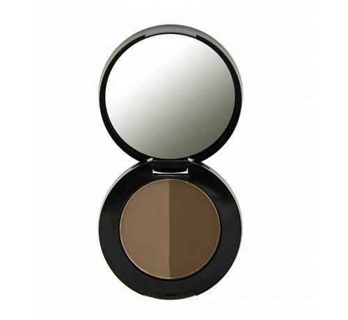 Freedom Makeup Duo Eyebrow Powder - Dark Brown