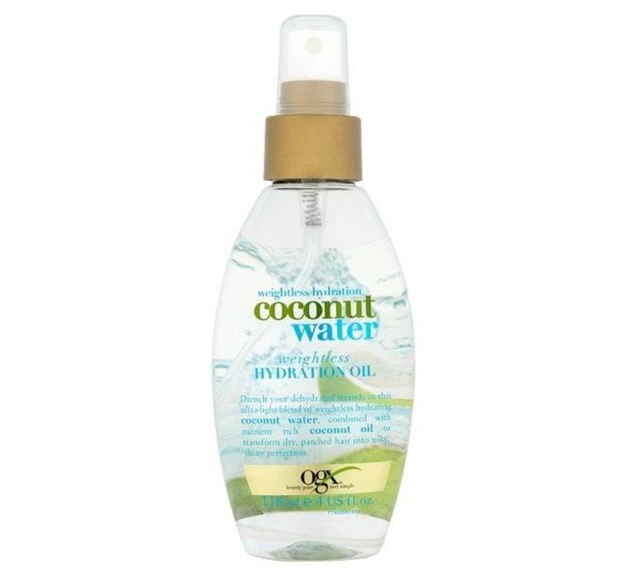 Weightless Hydration Coconut Water Oil