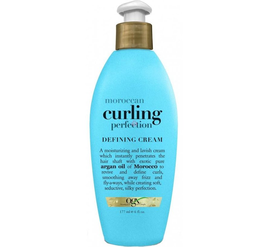Argan Oil of Morocco Curling Perfection Defining Cream