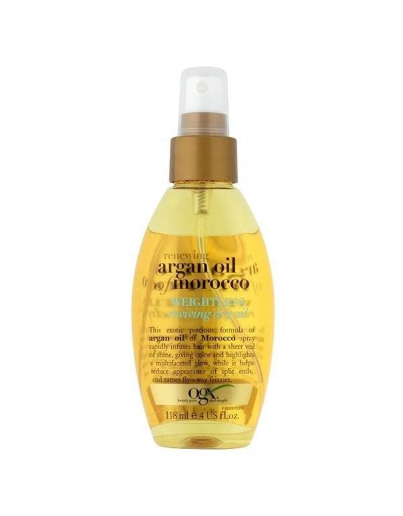 OGX (Organix) Argan Oil of Morocco Weightless Reviving Dry Oil