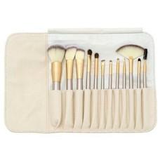 Brush Set 12 Piece Golden Beige