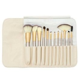 Brush Set 12 Piece Golden Beige