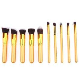 Brush Set 10 Piece Golden Times