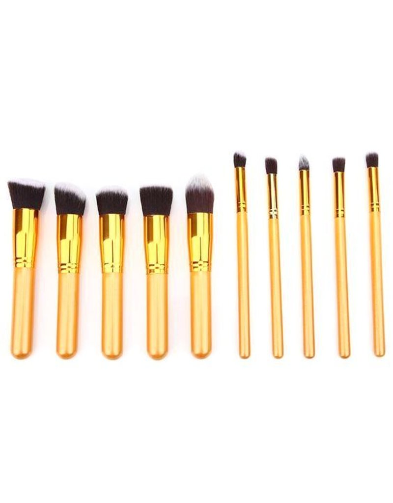 Brush Set 10 Piece Golden Times