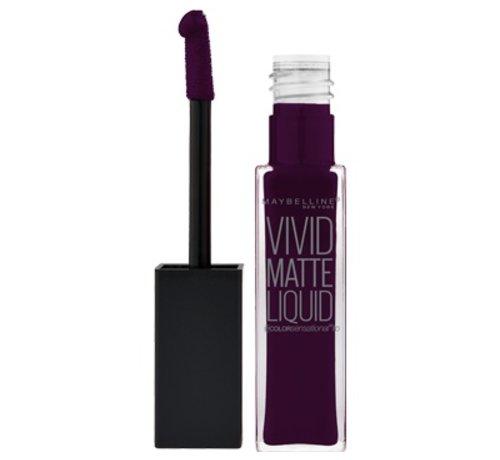 Maybelline Lip Vivid Matte Liquid - 45 Possessed Plum