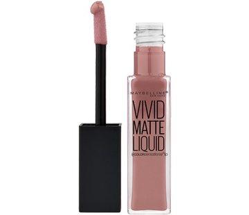 Maybelline Lip Vivid Matte Liquid - 50 Nude Thrill
