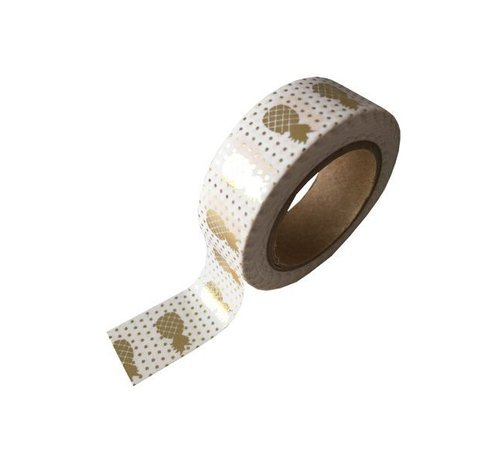 Masking Tape - Golden Pineapples
