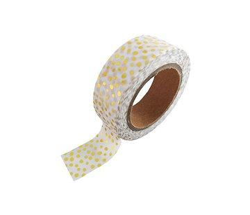 Stationery Masking Tape - Gold Sprinkles
