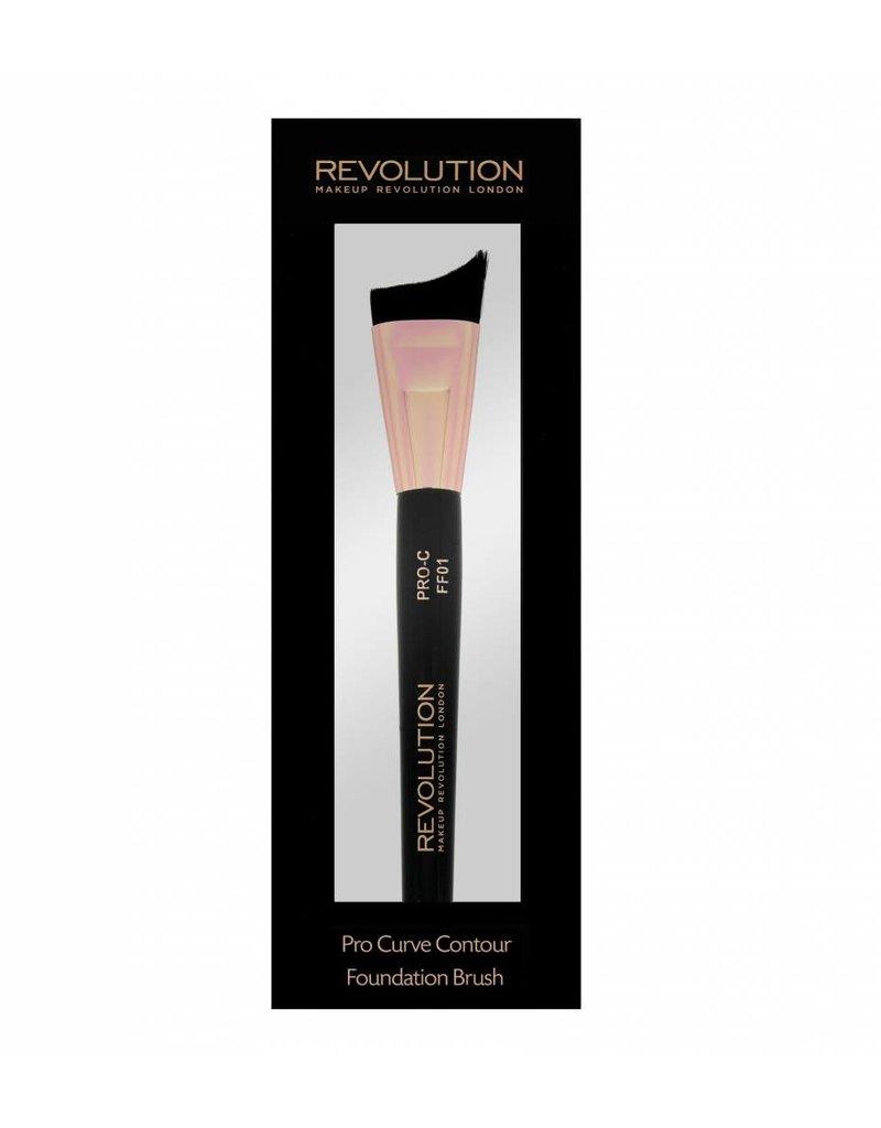 Makeup Revolution Pro Curve Contour Foundation Brush - Kwast
