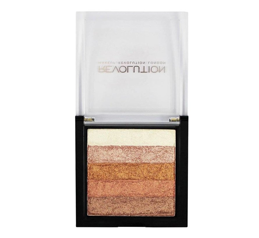 Vivid Shimmer Brick - Rose Gold