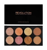 Makeup Revolution Ultra Blush & Contour Palette - Golden Sugar 2 Rose Gold