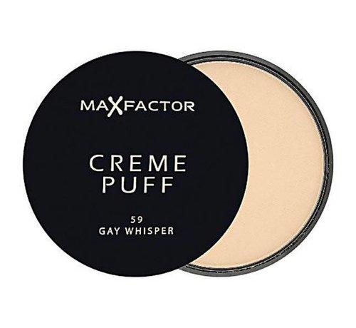 Max Factor Creme Puff - 59 Gay Whisper - Poeder