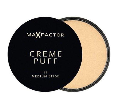 Max Factor Creme Puff - 41 Medium Beige - Poeder