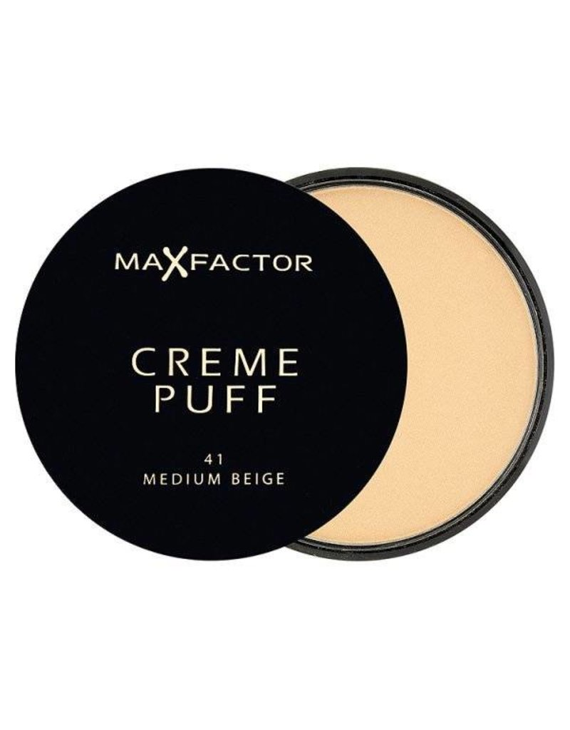 Max Factor Creme Puff - 41 Medium Beige - Poeder