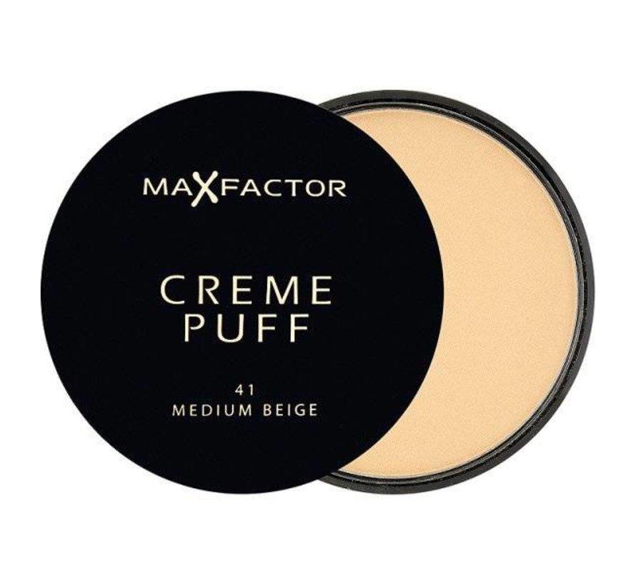 Creme Puff - 41 Medium Beige - Poeder