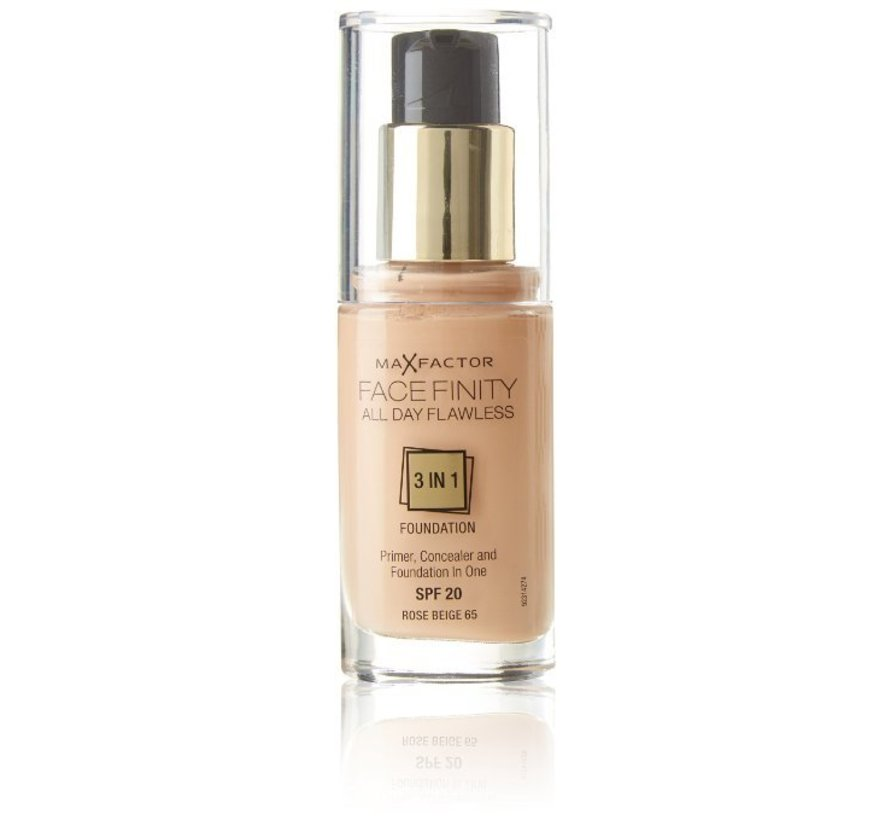 Facefinity 3 in 1 - 65 Rose Beige - Foundation