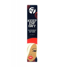 W7 Make-Up Keep Em' Dry Waterproof Mascara Top Coat