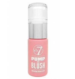 W7 Make-Up Pump and Blush - Peachy
