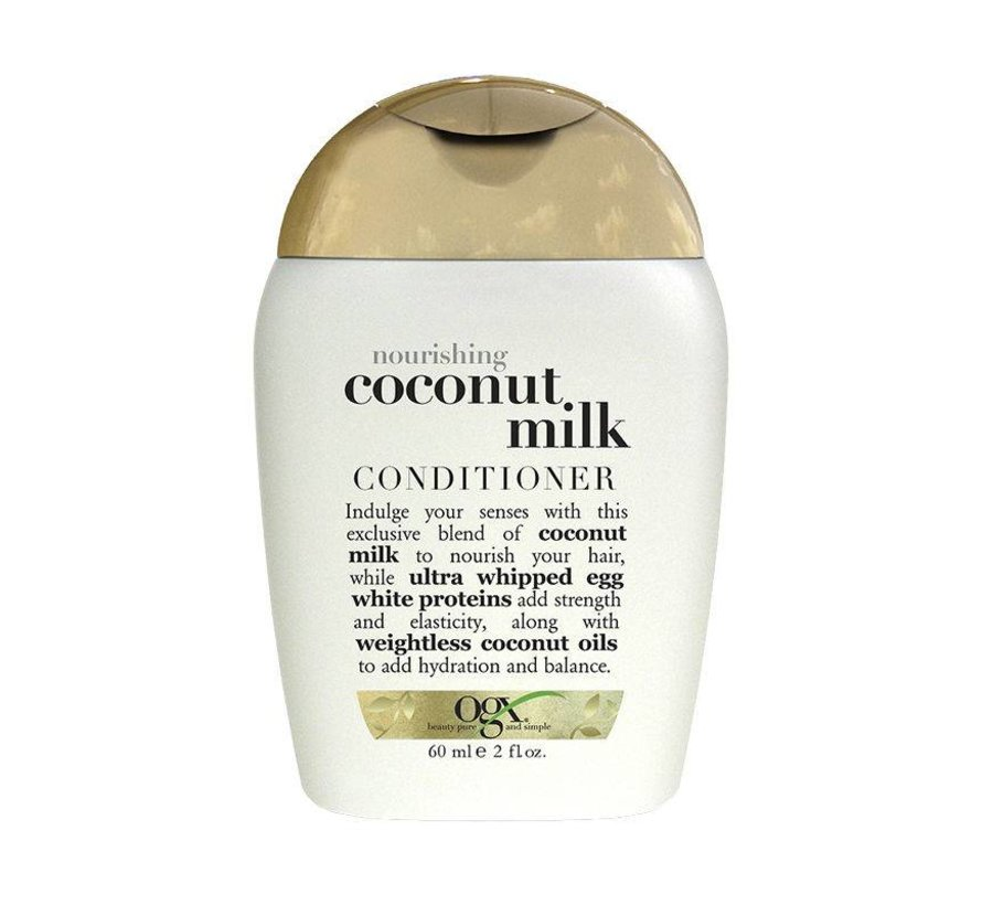 Travel Size Coconut Milk Conditioner 60 ml