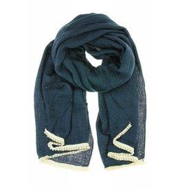 Pearl Sjaal - Donkerblauw