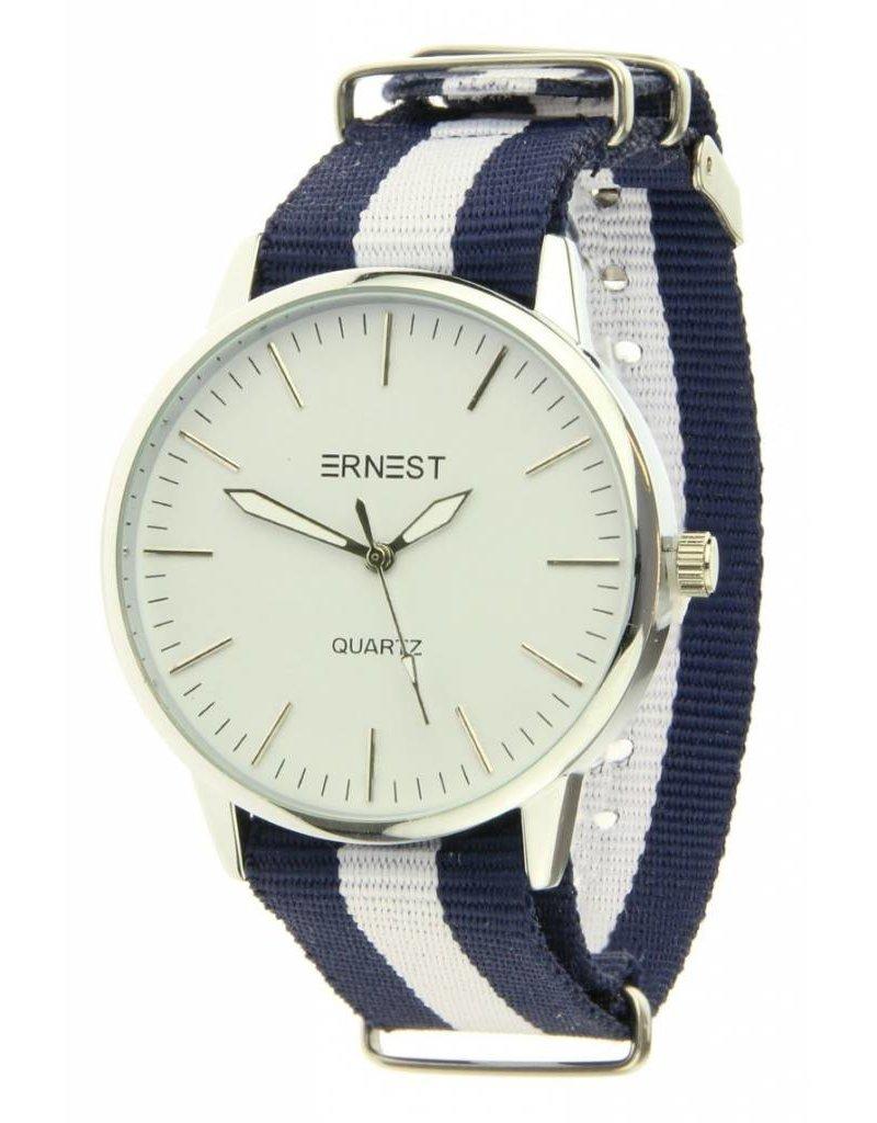 Ernest Striped - Blue White