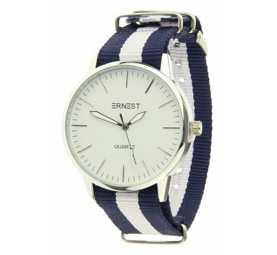 Striped - Blue White