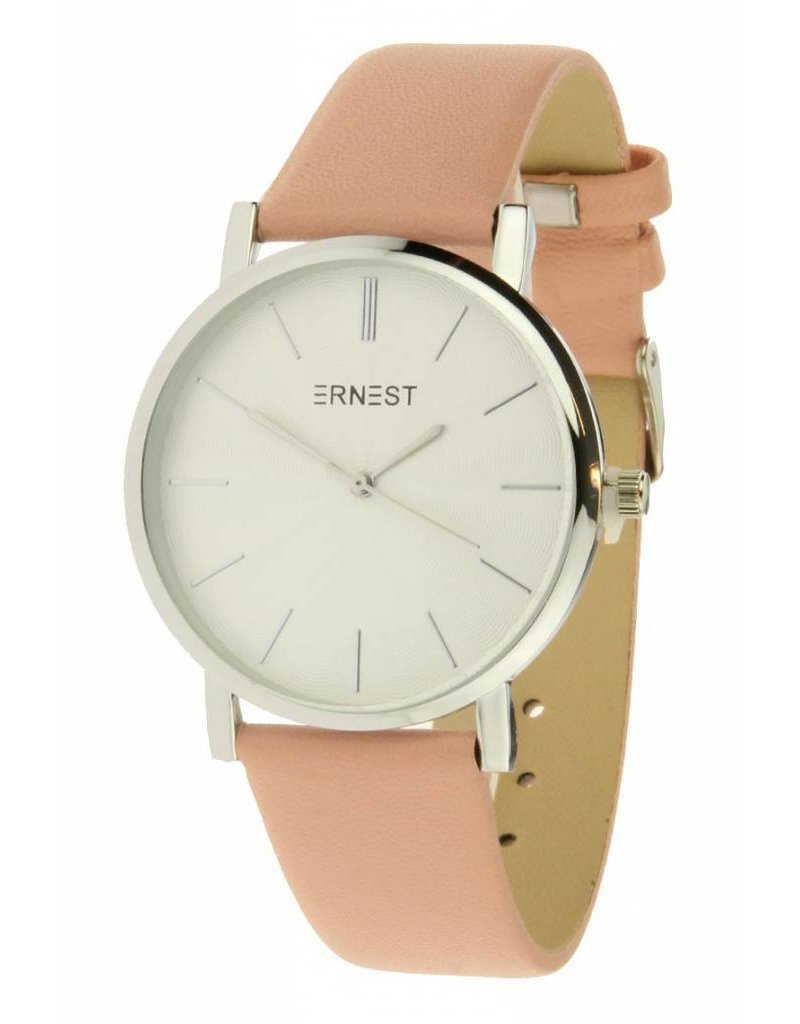 Ernest Classic Silver - Pink