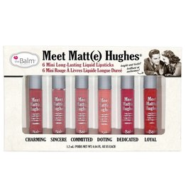 theBalm Meet Matt(e) Hughes Mini Liquid Lipsticks Set