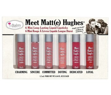 theBalm Meet Matt(e) Hughes Mini Liquid Lipsticks Set
