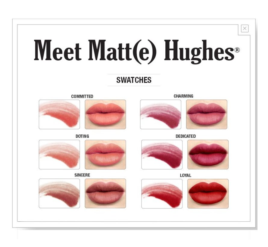 Meet Matt(e) Hughes Mini Liquid Lipsticks Set