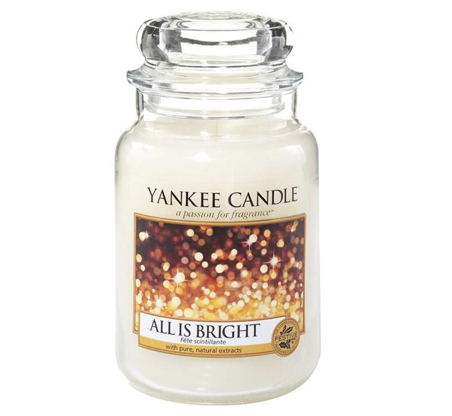All Is Bright - Large Jar