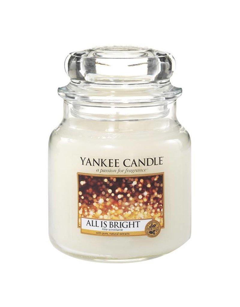 Yankee Candle All Is Bright - Medium Jar